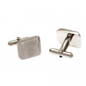 Arsenal Cufflinks - Stainless Steel PT